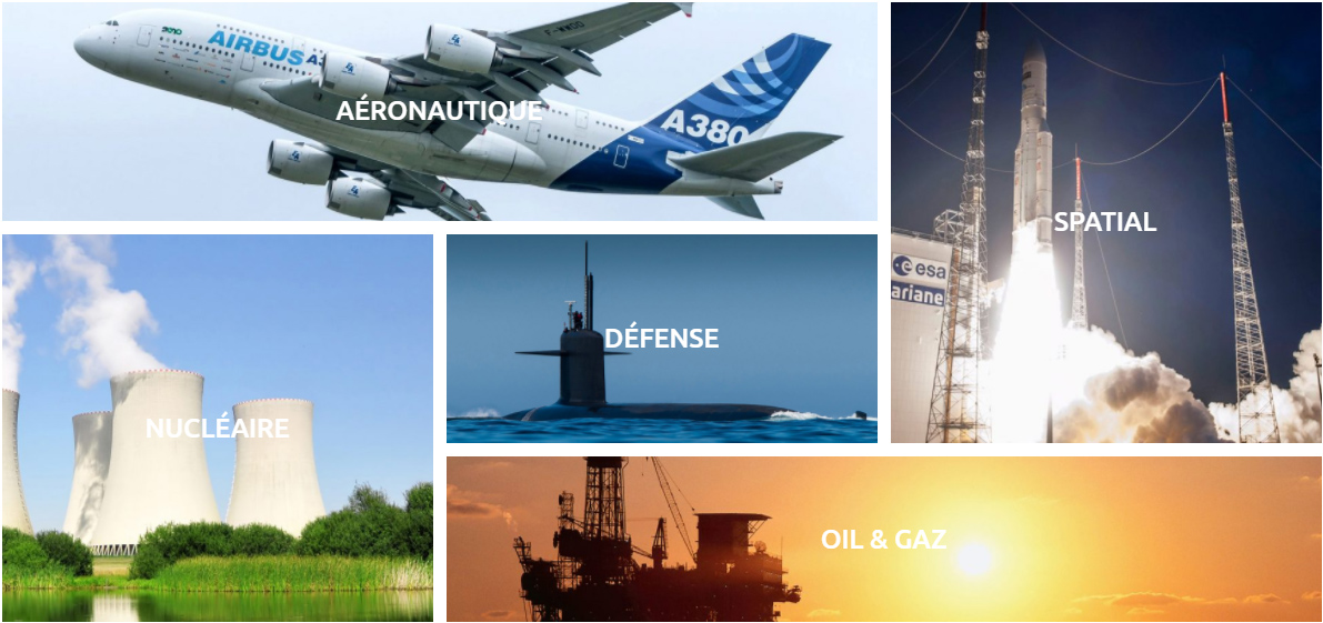 aeronautique-nucleaire-defense-spatial-oil-gaz-technitoile