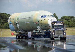 Protections logistiques et bâches de transport - obturateurs de tronçon d'avion toile technique et mousse