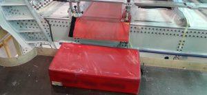 protections ergonomiques matelas-tapis de protection antiglisse et antichoc pour sécurisation des personnes et des biens - aéronautique - Technitoile